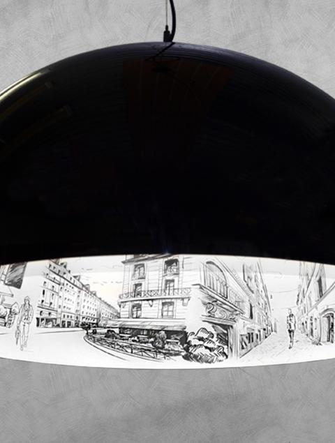 Полусфера Париж/600